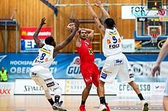 Basketball ABL 2015/16 Grunddurchgang 33.Runde Oberwart Gunners vs. WBC Wels