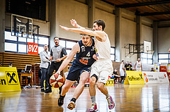 Basketball, Basketball Zweite Liga, Playoff: Viertelfinale 3. Spiel, Mattersburg Rocks, BBC Nord Dragonz, Ognjen Drljaca (4)