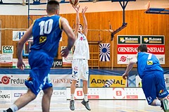 Basketball, ABL 2016/17, CUP VF, Oberwart Gunners, UBSC Graz, Maximilian Schuecker (14)