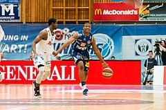 Basketball, CUP 2017 , Finale, Oberwart Gunners, Kapfenberg Bulls, Kareem Jamar (4)