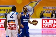 Basketball, ABL 2017/18, Grunddurchgang 7.Runde, Kapfenberg Bulls, Oberwart Gunners, Louis Dabney Jr. (5)