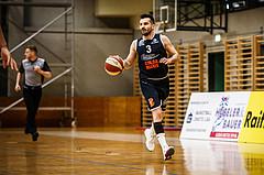 Basketball, Basketball Zweite Liga, Playoff: Viertelfinale 3. Spiel, Mattersburg Rocks, BBC Nord Dragonz, Petar Cosic (3)