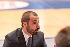 Basketball, ABL 2017/18, Grunddurchgang 2.Runde, Oberwart Gunners, UBSC Graz, Lluis Pino Vera (Coach)