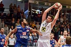 Basketball ABL 2015/16 Grunddurchgang 4.Runde WBC Wels vs Kapfenberg Bulls