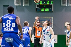 Basketball, ABL 2016/17, CUP 2.Runde, Blue Devils Wr. Neustadt, Oberwart Gunners, Jumpball
