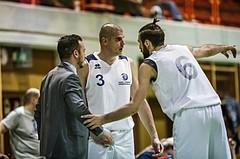 Basketball, 2.Bundesliga, Grunddurchgang 5.Runde, Mattersburg Rocks, Mistelbach Mustangs, Dusan Kozlica (Head Coach), Attila Hegedues (3), Stojan Radanovic (6)