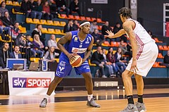 Basketball, ABL 2016/17, Grunddurchgang 18.Runde, BC Vienna, Oberwart Gunners, Cedric Kuakumensah (5)
