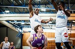 Basketball, ABL 2018/19, Grunddurchgang 33.Runde, Oberwart Gunners, Timberwolves, Philipp D'Angelo (9)