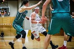 Basketball, 2.Bundesliga, Grunddurchgang 2.Runde, Mattersburg Rocks, KOS Celovec, Philipp GERM (12)