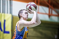 Basketball, 2.Bundesliga, Grunddurchgang 5.Runde, Mattersburg Rocks, Mistelbach Mustangs, Christian Joch (15)