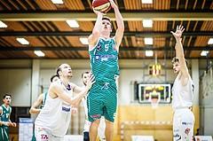 Basketball, 2.Bundesliga, Grunddurchgang 2.Runde, Mattersburg Rocks, KOS Celovec, Andi Smrtnik (5)