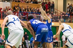 Basketball, ABL 2016/17, CUP 2.Runde, Blue Devils Wr. Neustadt, Oberwart Gunners, Jakob Szkutta (4)