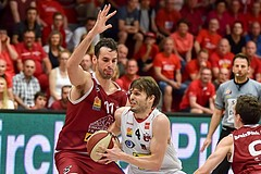 Basketball ABL 2015/16 Playoff Halbfinale Spiel 5 WBC Wels vs Traiskirchen Lions
