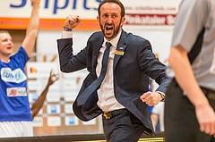 Basketball, CUP 2017 , 1/2 Finale, Oberwart Gunners, Gmunden Swans, Chris Chougaz (Coach)