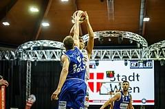 Basketball, Admiral Basketball Superliga 2019/20, Grunddurchgang 5.Runde, BC Vienna, Oberwart Gunners, Stjepan Stazic (7); Edi Patekar (9)