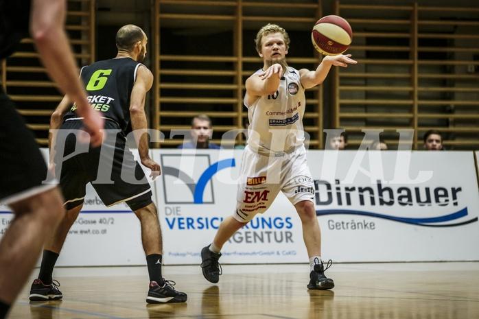 Basketball, 2.Bundesliga, Grunddurchgang 9.Runde, Mattersburg Rocks, Basket Flames, Claudio VANCURA (10)