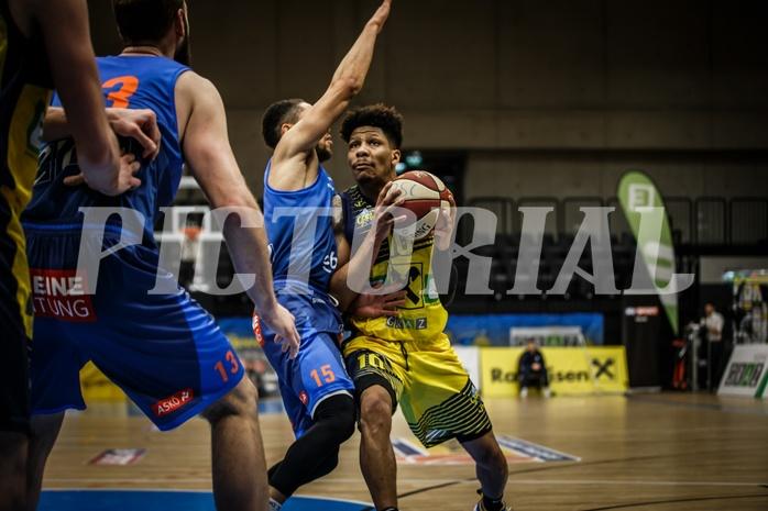 Basketball, ABL 2018/19, Grunddurchgang 17.Runde, UBSC Graz, Kapfenberg Bulls, Kevin Tyus (10)