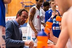 Basketball, ABL 2016/17, CUP VF, Oberwart Gunners, UBSC Graz, Chris Chougaz (Coach)