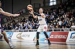 Basketball, ABL 2018/19, Grunddurchgang 33.Runde, Oberwart Gunners, Vienna DC Timberwolves, Hayden Thomas Lescault (11)