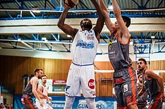 Basketball, ABL 2018/19, Grunddurchgang 5.Runde, Oberwart Gunners, Fürstenfeld Panthers, Christopher Tawiah (14)