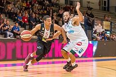 Basketball, ABL 2017/18, Grunddurchgang 3.Runde, Oberwart Gunners, Flyers Wels, Siyani Chambers (5)
