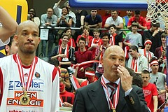 Basketball ABL 2012-13 Snickers-Playoffs Fnale 5.Spiel BC Vienna vs. Oberwart Gunners