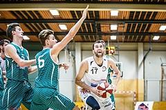 Basketball, 2.Bundesliga, Grunddurchgang 2.Runde, Mattersburg Rocks, KOS Celovec, Tobias WINKLER (17)