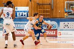 Basketball, ABL 2017/18, Grunddurchgang 2.Runde, Oberwart Gunners, UBSC Graz, Anton Maresch (14)