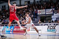 Basketball, ABL 2018/19, Grunddurchgang 1.Runde, Oberwart Gunners, BC Vienna, Stefan Blazevic (13)