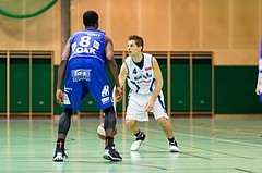 Basketball, ABL 2016/17, CUP 2.Runde, Blue Devils Wr. Neustadt, Oberwart Gunners, Attila Völgyes (4), Christopher McNealy (8)