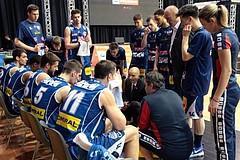 24.02.2017 Basketball ABL 2016/17 Grunddurchgang 24. Runde bc Vienna vs Kapfenberg bulls