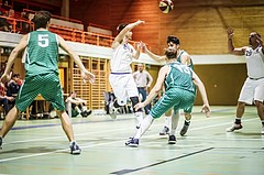 Basketball, 2.Bundesliga, Grunddurchgang 4.Runde, Mattersburg Rocks, BBU Salzburg, Julian Thomas (8)