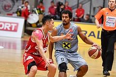 Basketball ABL 2016/17 Grunddurchgang 7.Runde WBC Wels vs BC Vienna