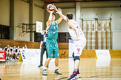 Basketball, 2.Bundesliga, Grunddurchgang 2.Runde, Mattersburg Rocks, KOS Celovec, Julijan Lipus (8)