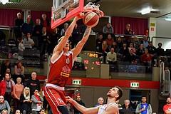 Basketball ABL 2018/19 Grunddurchgang 24. Runde Flyers Wels vs Traiskirchen Lions