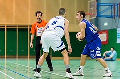 Basketball, ABL 2016/17, CUP 2.Runde, Blue Devils Wr. Neustadt, Oberwart Gunners, Jakob Szkutta (4), Christian Kornfeld (8)