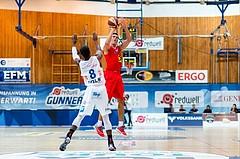 Basketball ABL 2016/17 Grunddurchgang 2.Runde Oberwart Gunners vs WBC Wels