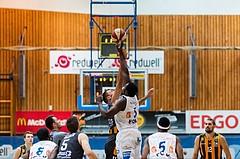 Basketball, ABL 2016/17, Grunddurchgang 2.Runde, Oberwart Gunners, Klosterneuburg Dukes, Jozo Rados (11), Cedric Kuakumensah (5)