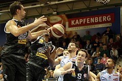 Basketball ABL 2015/16 Grunddurchgang 11.Runde Kapfenberg Bull vs Traiskirchen Lions