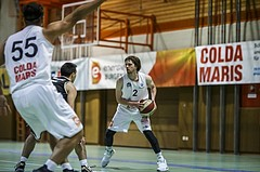 Basketball, Basketball Zweite Liga, Grunddurchgang 1.Runde, COLDA MARIS BBC Nord Dragonz, Swarco Raiders Tirol, Brandon Holloway (2)