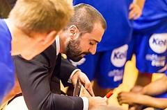 Basketball, ABL 2017/18, Grunddurchgang 7.Runde, Kapfenberg Bulls, Oberwart Gunners, Lluis Pino Vera (Coach)