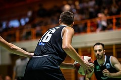 Basketball, Basketball Zweite Liga, Grunddurchgang 1.Runde, COLDA MARIS BBC Nord Dragonz, Swarco Raiders Tirol, Benjamin Medic (16)