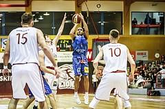 Basketball, ABL 2018/19, Grunddurchgang 9.Runde, Traiskirchen Lions, Kapfenberg Bulls, Elijah Wilson (4)