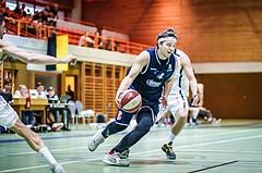 Basketball, 2.Bundesliga, Grunddurchgang 2.Runde, BBC Nord Dragonz, Jennersdorf Blackbirds, Ognjen Drljaca (4)
