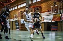 Basketball, Basketball Zweite Liga, Grunddurchgang 3.Runde, COLDA MARIS BBC Nord Dragonz, Mattersburg Rocks, Petar Cosic (2)