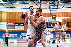 Basketball, ABL 2018/19, Grunddurchgang 5.Runde, Oberwart Gunners, Fürstenfeld Panthers, Andrius Mikutis (5)