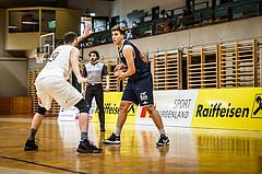 Basketball, Basketball Zweite Liga, Playoff: Viertelfinale 3. Spiel, Mattersburg Rocks, BBC Nord Dragonz, Ismail Chrigui (1)