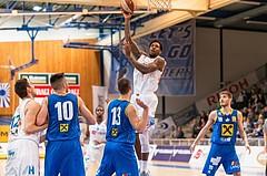 Basketball, ABL 2016/17, CUP VF, Oberwart Gunners, UBSC Graz, Jamari Traylor (9)