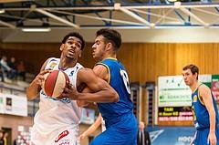 Basketball, ABL 2017/18, Grunddurchgang 2.Runde, Oberwart Gunners, UBSC Graz, Gregg Denzel (9)