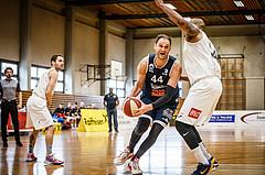Basketball, Basketball Zweite Liga, Playoff: Viertelfinale 3. Spiel, Mattersburg Rocks, BBC Nord Dragonz, Fuad Memcic (44)